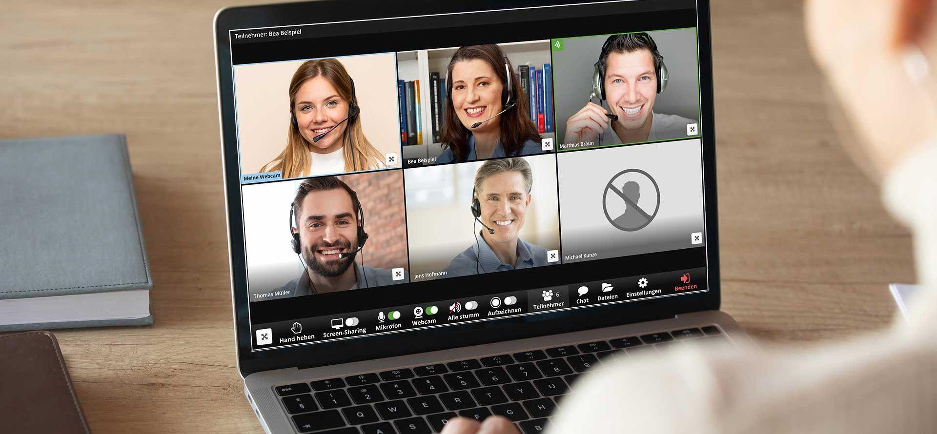 Videokonferenz-System Visavid